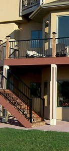 Aluminum Deck Railing