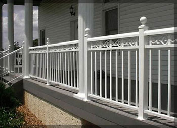 Star Railings Colonial Series Aluminum Porch And Deck