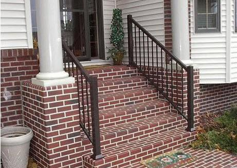 colonialbrown stair rail